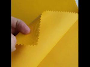 100% bahan poliester oxford kain laminasi kain PVC