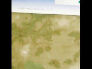 1000D nilon oxford tahan air kamuflase PU kain bersalut