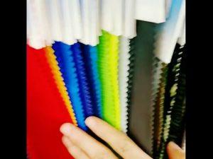 160D kalis air 10000mm nilon taslan berlapis kain tricot kain