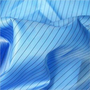 Fabrik 5mm-strip-twill-polyester-antistatic-woven