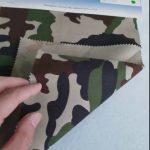 Corak penyamaran 80/20 kapas poliester kain twil untuk seragam tentera