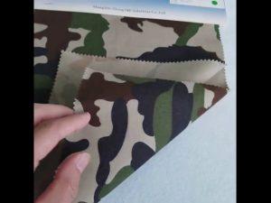 Corak penyamaran 8020 kain kapas poliester kapas untuk tentera seragam