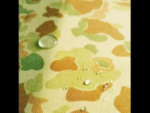 Kilang China 1000 denier cordura dicetak kain nilon dengan penghalau air