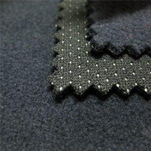 TPU kalis air berkualiti tinggi yang dicetak bulu polar tenunan yang ditenun 3 lapisan berlapis kain lembut kain
