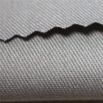 Kain kapas 350gsm kalis api bahan kain kain satin EN11612 FR untuk coverall