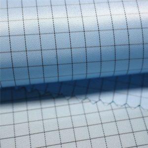 5mm jalur tenunan poliester antistatic fabrik tenunan untuk pakaian antistatik