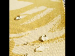 Super kuat penyamaran padang pasir 1000D nylon oxford PU kain bersalut