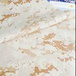 kualiti yang baik corak penyamaran 100% kain nilon keselamatan penggunaan tentera